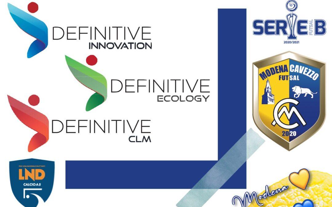 Definitive Innovation e Modena Cavezzo Futsal: la partnership continua!