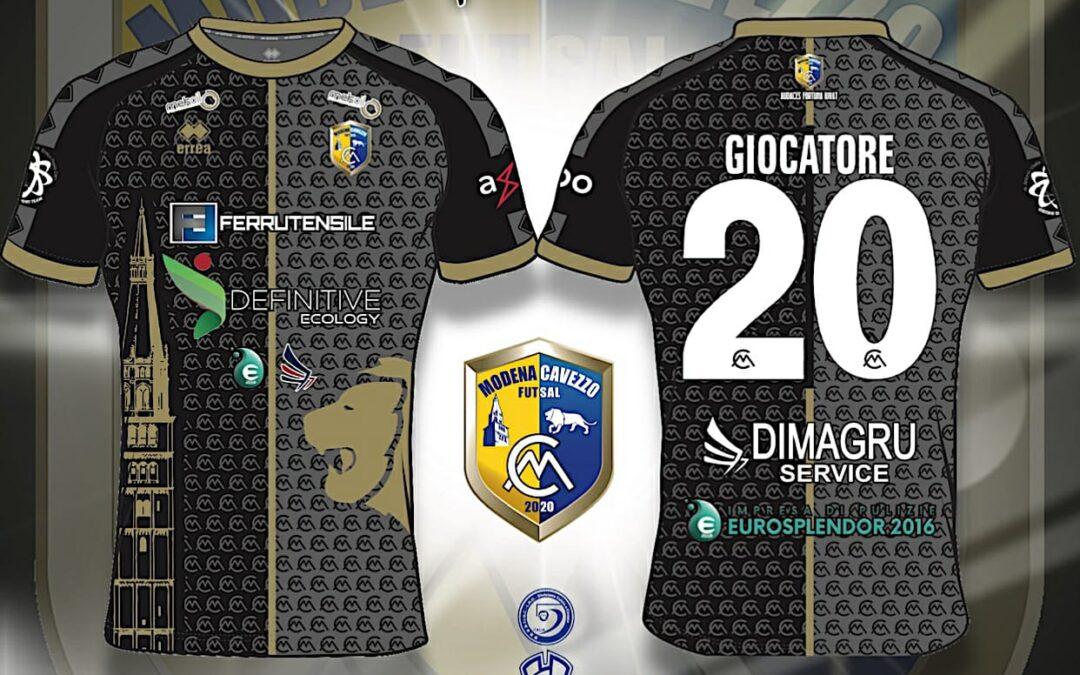 """""""ROYAL KIT"""" è fuori! Il Modena Cavezzo Futsal svela la seconda maglia della stagione 20-21"""
