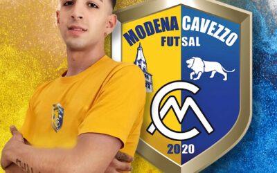 Alfonso Coppola rinforza il parco portieri del Modena Cavezzo Futsal!