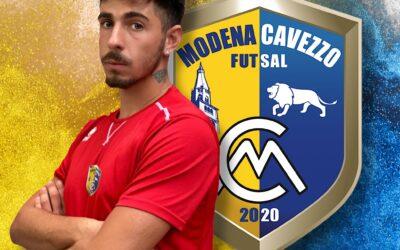 La crescita continua: Alex Nave è ancora del Modena Cavezzo Futsal!