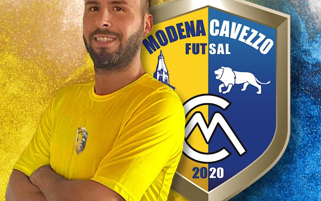 Il roster prende sempre più forma: Vincenzo di Carlo al Modena Cavezzo Futsal