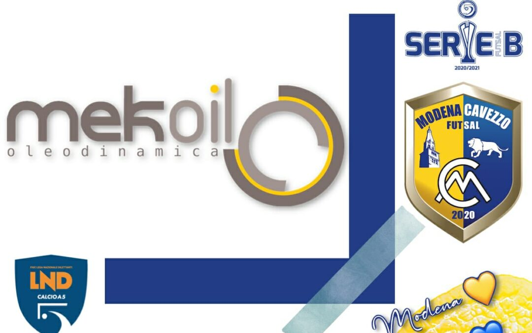 Mekoil e Modena Cavezzo Futsal: insieme per cresere!