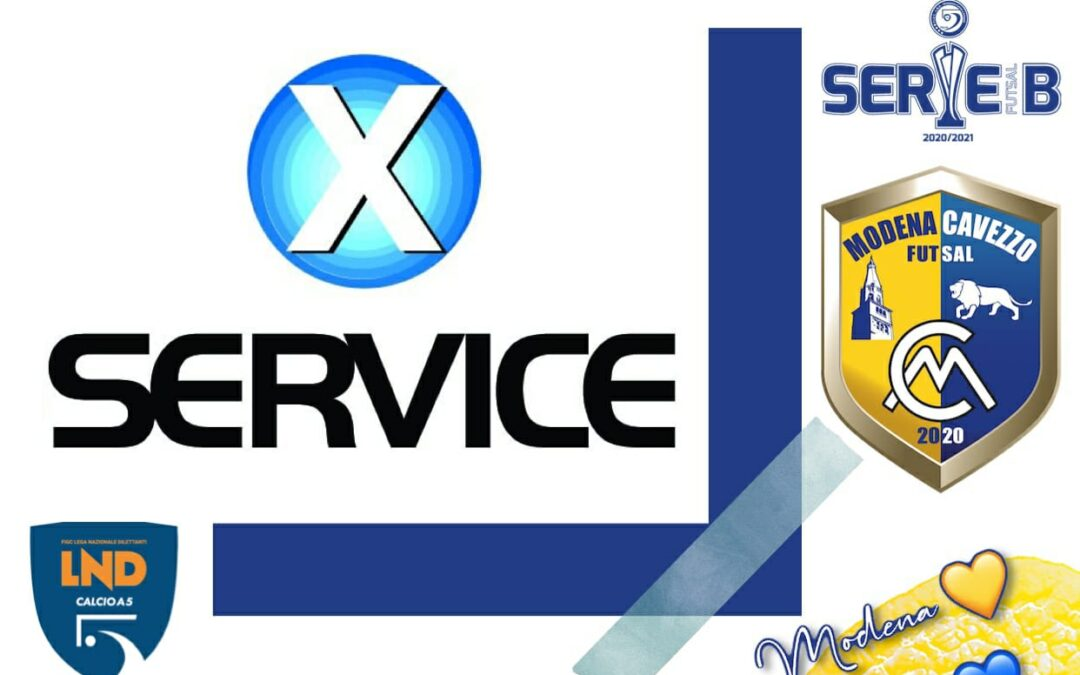 X Service: Insieme al Modena Cavezzo Futsal al vostro servizio!