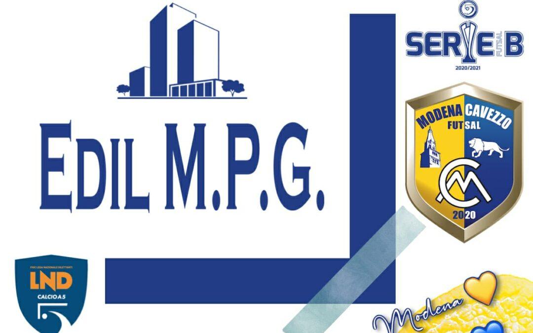 EDIL M.P.G. e Modena Cavezzo Futsal: al via il sodalizio!