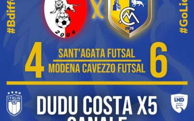 """""""Dudu forza 5"""" si abbatte su Sant'Agata, ma che fatica per il MCF!"""
