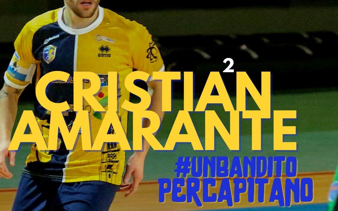 Il capitano e la sua nave: la favola di Cristian Amarante continua.